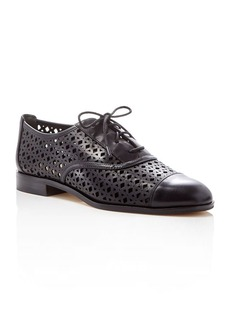 MICHAEL Michael Kors Sunny Leather Lasercut Oxfords