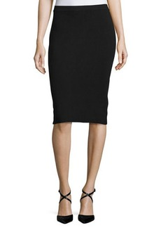 MICHAEL Michael Kors Sweater-Knit Knee-Length Pencil Skirt