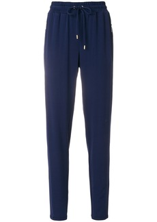 Michael Michael Kors tapered jogger trousers - Blue