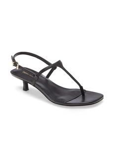 MICHAEL Michael Kors Tasha T-Strap Kitten Heel Sandal (Women)