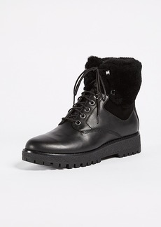MICHAEL Michael Kors Teddy Shearling Hiking Boots