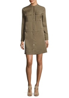 MICHAEL MICHAEL KORS Tencel Shirt Dress