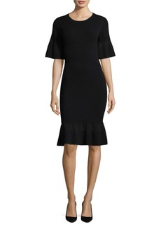 MICHAEL Michael Kors Textured Bodycon Dress