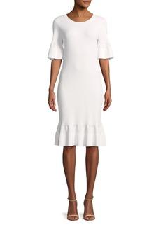 MICHAEL Michael Kors Textured Bodycon Dress