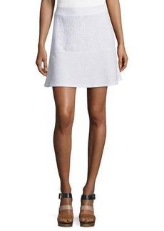 MICHAEL Michael Kors Textured Jacquard Miniskirt