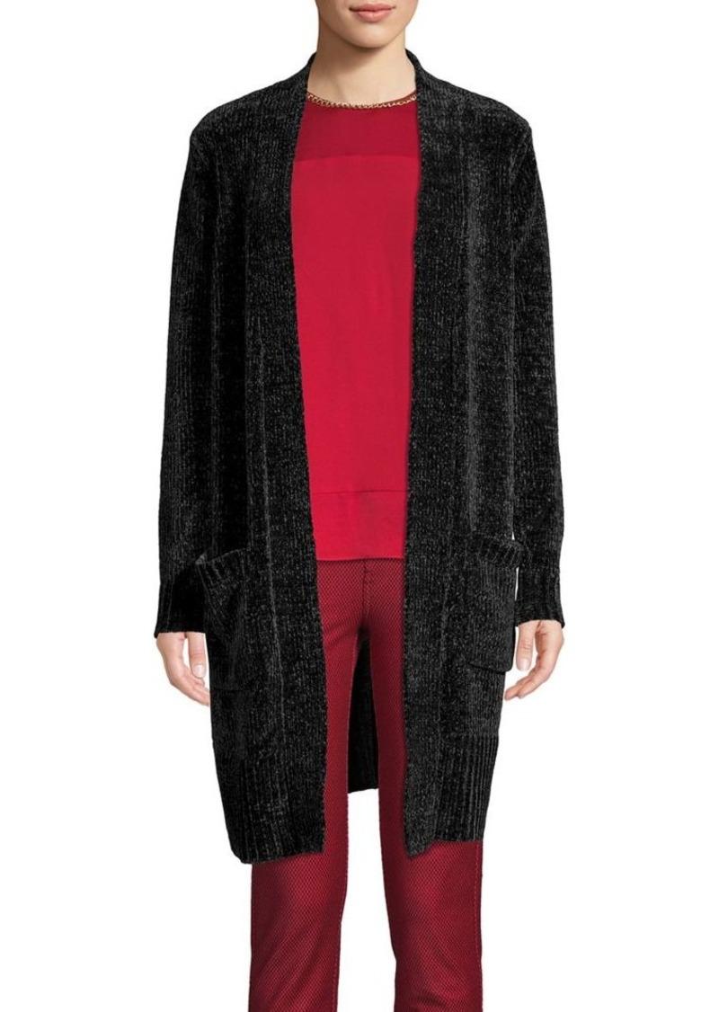 MICHAEL Michael Kors Textured Open-Front Cardigan