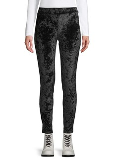 MICHAEL Michael Kors Textured Velvet Leggings