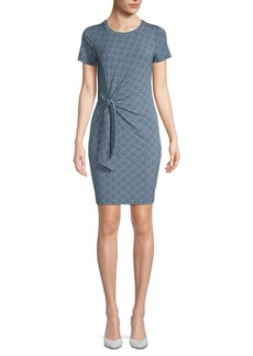 MICHAEL Michael Kors Tie-Front Sheath Dress