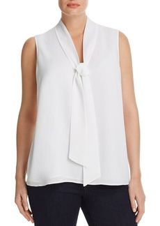 MICHAEL Michael Kors Tie Neck Top