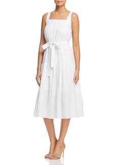 MICHAEL Michael Kors Tie-Waist Midi Dress