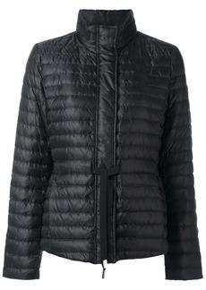 Michael Michael Kors tie waist padded jacket - Black