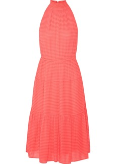 MICHAEL Michael Kors Tiered fil coupé chiffon dress