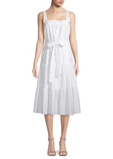MICHAEL Michael Kors Tiered Midi Dress