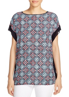 MICHAEL Michael Kors Tile Print Top