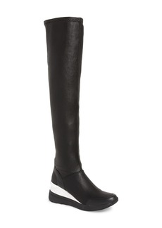 MICHAEL Michael Kors Tipton Wedge Over the Knee Rain Boot (Women)