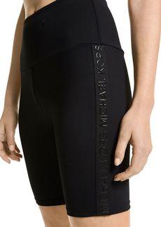 MICHAEL Michael Kors Tonal Tape Biker Shorts