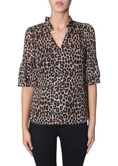 MICHAEL Michael Kors Top With Rouches