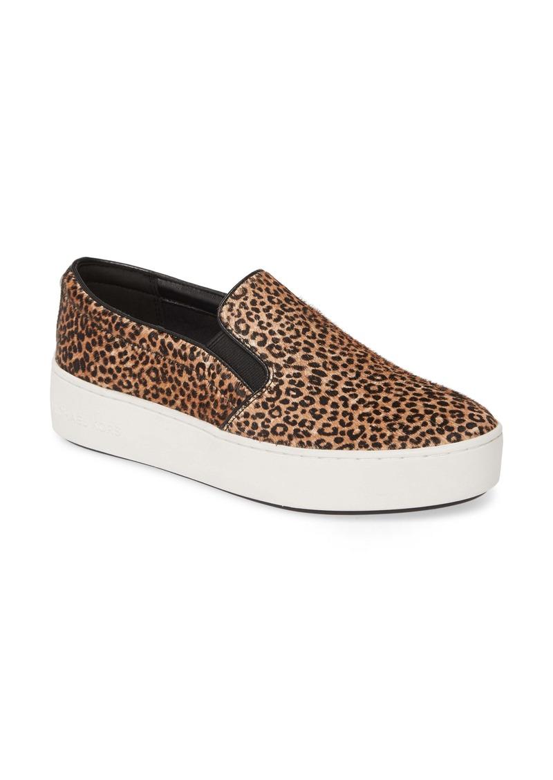 MICHAEL Michael Kors Trent Genuine Calf Hair Slip-On Sneaker (Women)