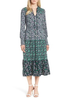 MICHAEL Michael Kors Triple Print Paisley Dress
