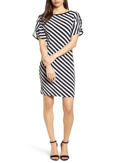 MICHAEL Michael Kors Tulip Sleeve Stripe Dress