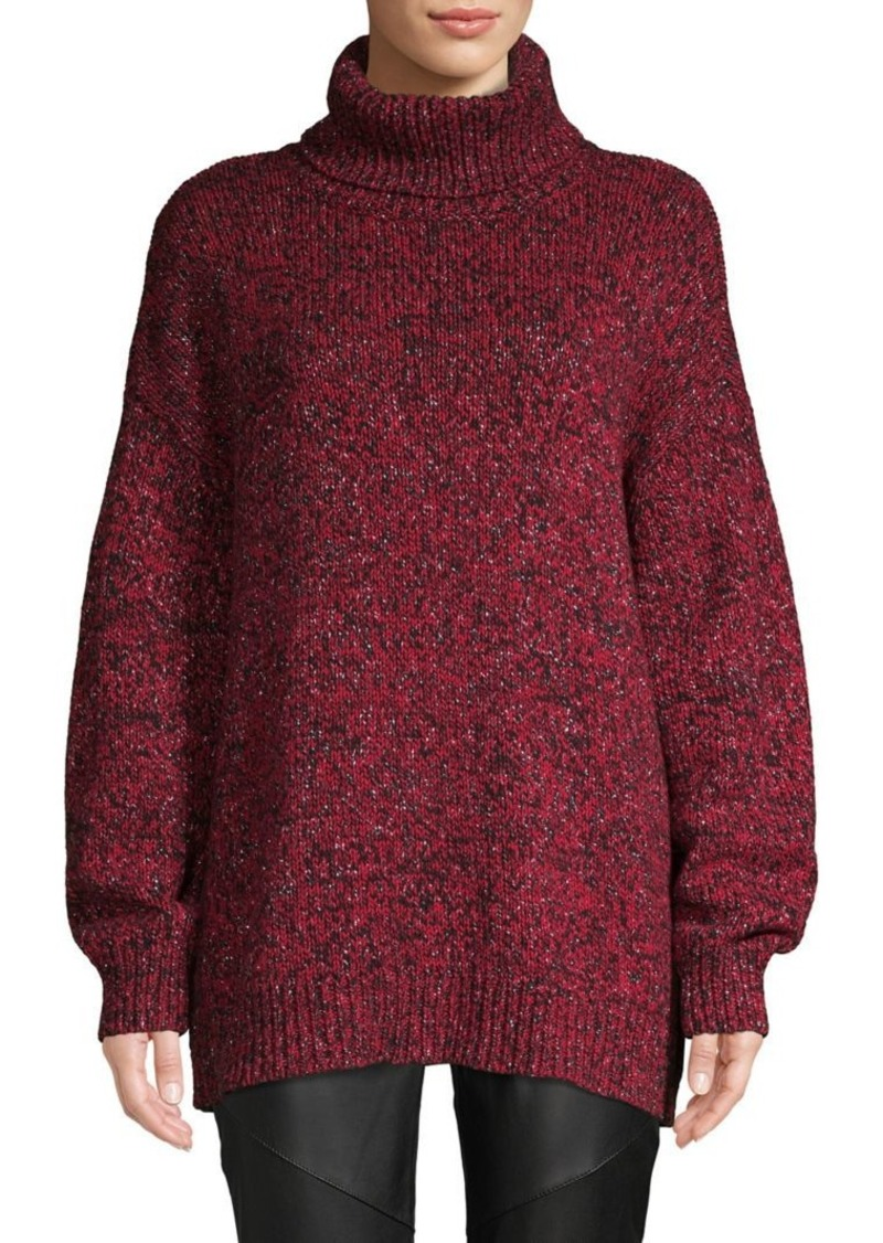 MICHAEL Michael Kors Turtleneck Cotton-Blend Sweater