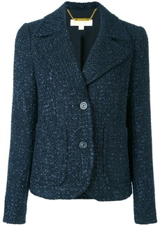 Michael Michael Kors tweed jacket - Blue