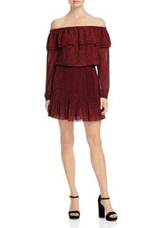 MICHAEL Michael Kors Umbria Off-The-Shoulder Dress