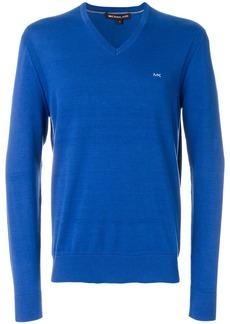 Michael Michael Kors V-neck sweater - Blue