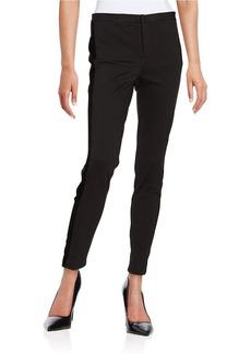 MICHAEL MICHAEL KORS Velvet Accented Tuxedo Dress Pants