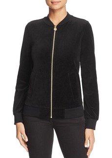Michael Michael Kors Velvet Bomber Jacket