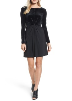 MICHAEL Michael Kors Velvet Mix Twist Dress