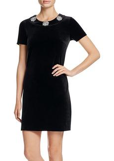 MICHAEL Michael Kors Velvet Mod Shift Dress