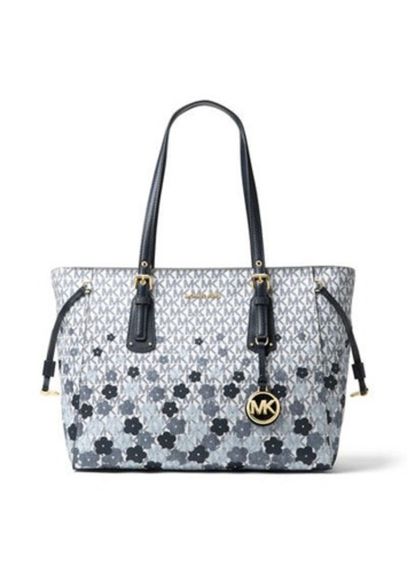 03897461cdd1 MICHAEL Michael Kors Voyager Medium Printed Tote Bag