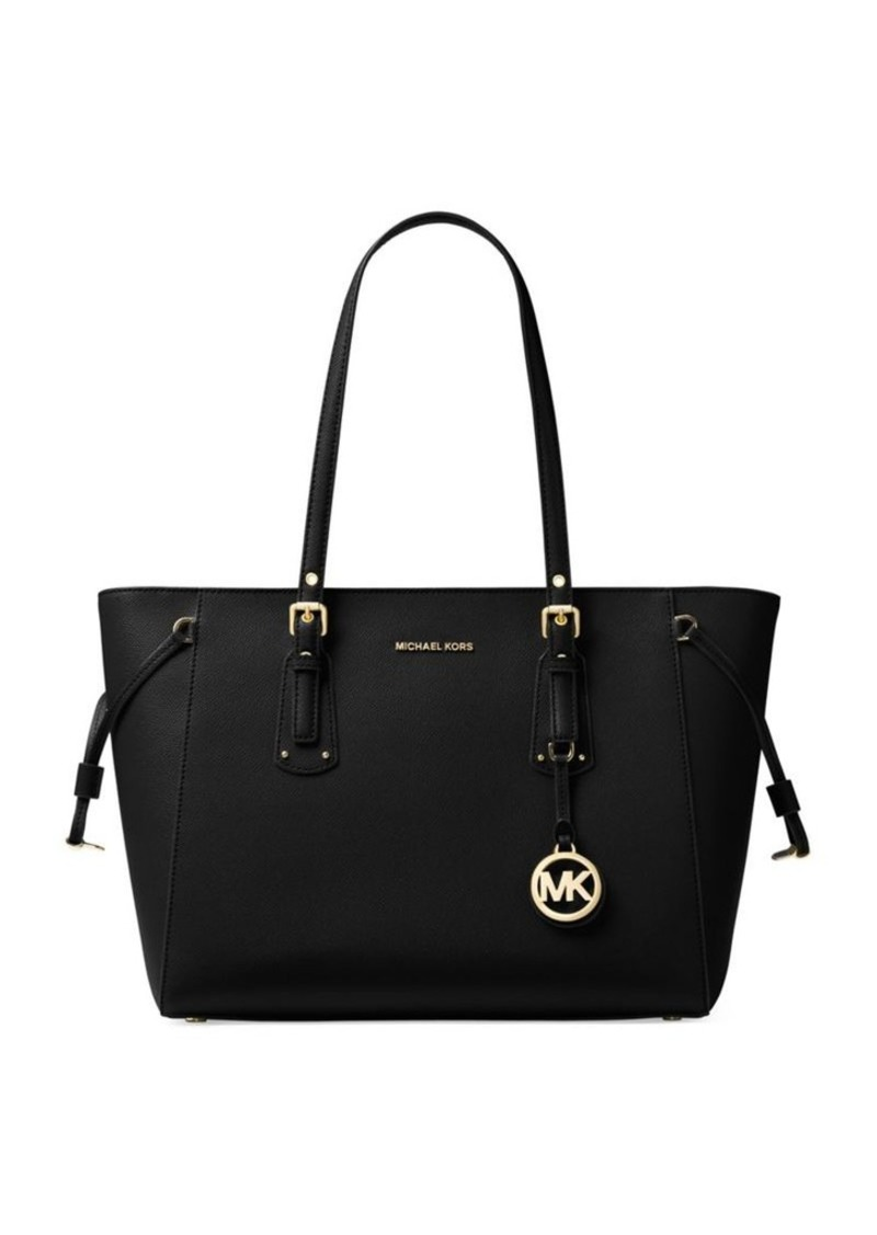 809d2fb53cde MICHAEL Michael Kors MICHAEL MICHAEL KORS Voyager Medium Leather ...