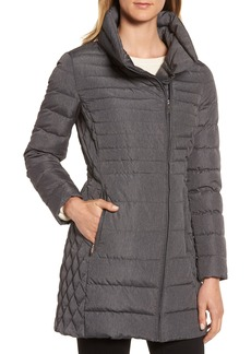 MICHAEL Michael Kors Water Repellent Packable Puffer Coat