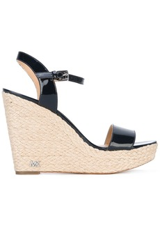 Michael Michael Kors wedge sandals - Black