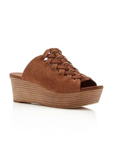 MICHAEL Michael Kors Westley Woven Platform Slide Sandals