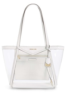 MICHAEL Michael Kors Whitney Clear Tote