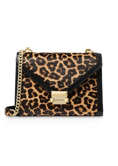 MICHAEL Michael Kors Whitney Large Cheetah-Print Convertible Shoulder Bag