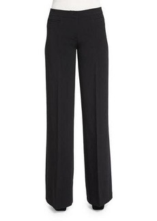 MICHAEL Michael Kors Wide-Leg Stretch Trousers