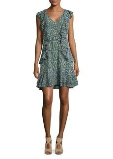 MICHAEL Michael Kors Wild Flower Cascade Mini Dress