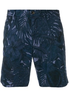 Michael Michael Kors wild nature printed shorts - Blue