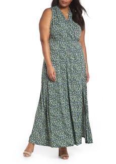 MICHAEL Michael Kors Wildflowers Maxi Dress (Plus Size)