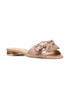 MICHAEL MICHAEL KORS Willa Leather Slide Sandals