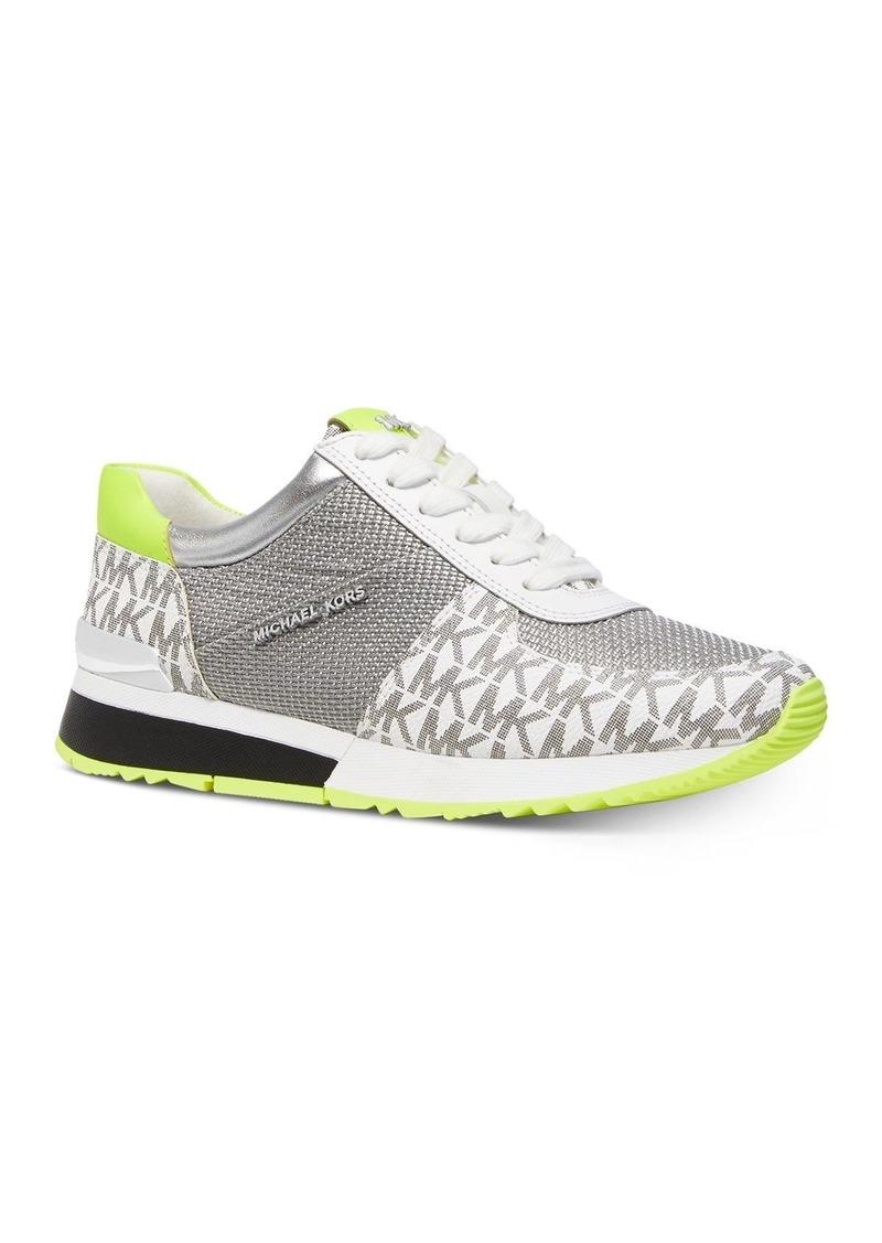 MICHAEL Michael Kors Women's Allie Metallic Sneakers