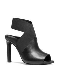 MICHAEL Michael Kors Women's Ames Open-Toe High-Heel Booties