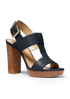 MICHAEL Michael Kors Women's Becker T-Strap High-Heel Sandals