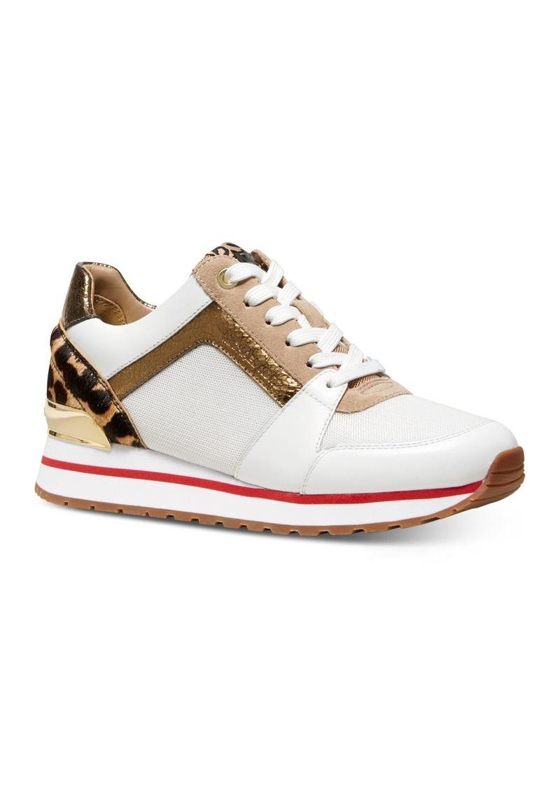 MICHAEL Michael Kors Women's Billie Mixed Media Sneakers