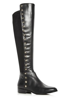 MICHAEL Michael Kors Women's Bromley Leather & Suede Embellished Tall Boots
