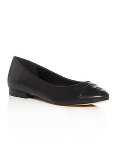 MICHAEL Michael Kors Women's Dylyn Cap-Toe Flats